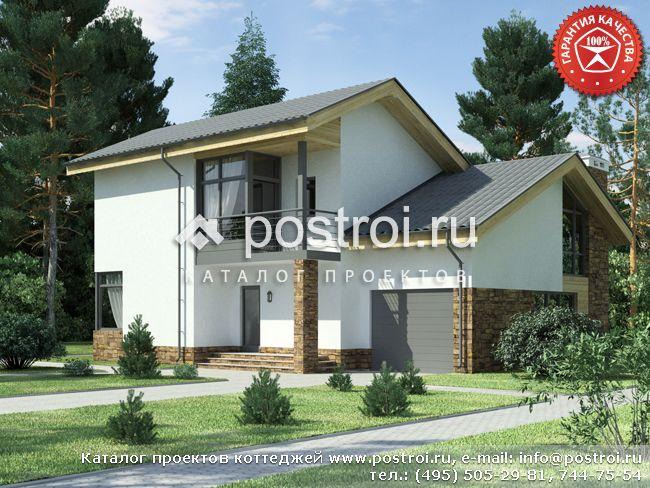 Жилой дом 13 на 13 № W-194-1P