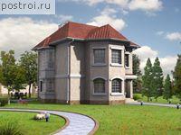 проекты двухэтажных кирпичных домов - Нужные схемы и описания для всех.