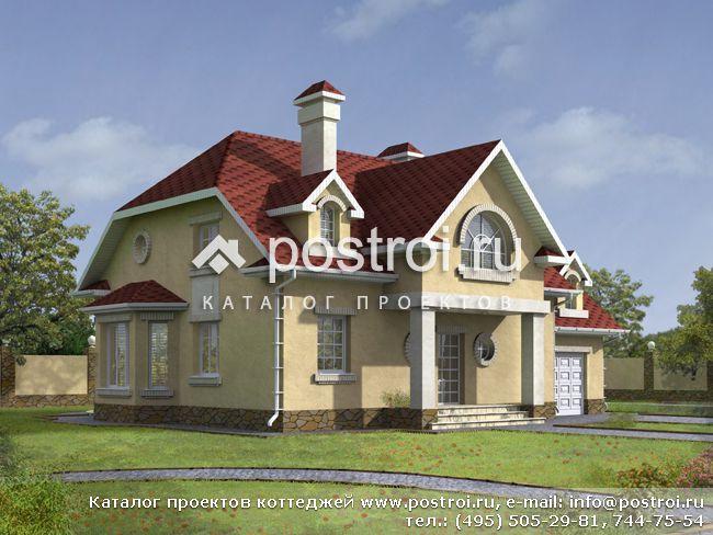 Проекты домов и коттеджей Plansru - Каталог типовых и