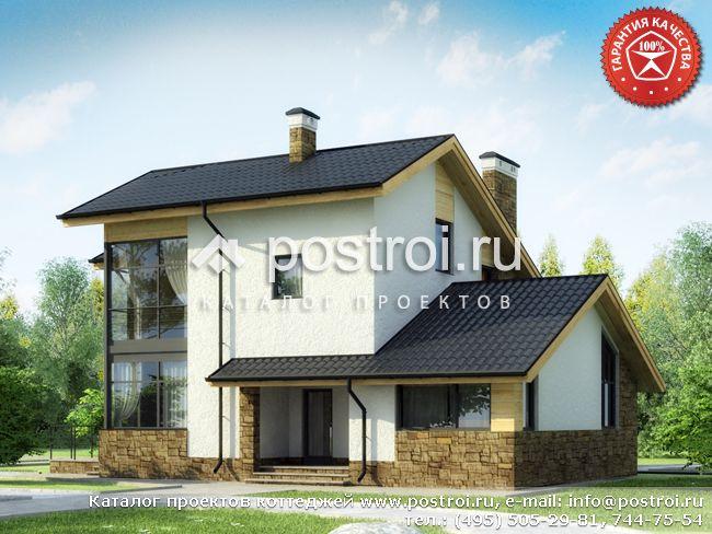 Дом с тренажерным залом № W-271-1K
