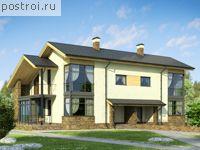 Проект дома на две семьи № W-289-1P