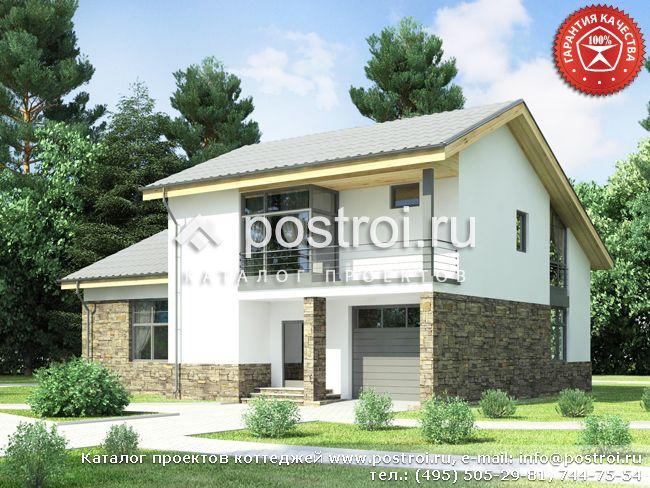 Дом для всесезонного проживания № W-298-1P