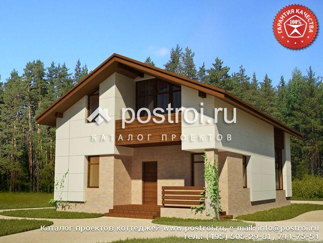 Проект дома 8 на 12 № Y-143-1S