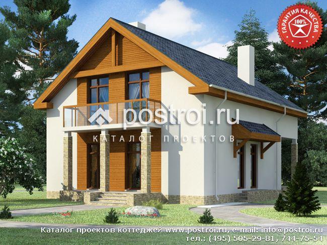 Двухэтажный дом 10 на 15 № Y-183-1S