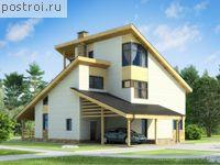 Каркасный дом, площадь 257.67м2